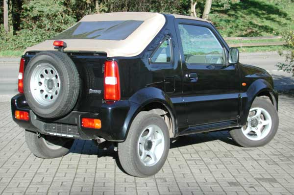 Suzuki Jimni Pick Up Verdecke